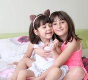 Due sorelle fotografia stock libera da diritti