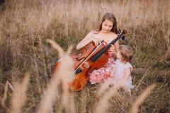 Due sorelle belle Fotografia Stock
