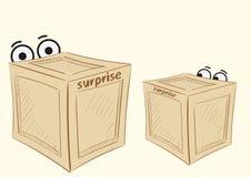 Due sorprese illustrazione vettoriale
