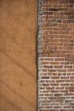 Due stili differenti della parete Fotografia Stock Libera da Diritti