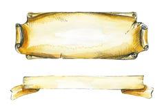 Due strutture dell'iscrizione royalty illustrazione gratis
