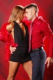 Due a tango Immagini Stock Libere da Diritti