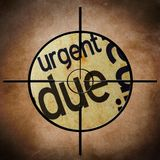 Due target Stock Image