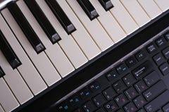 Due tastiere Immagini Stock Libere da Diritti