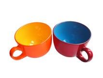 Due tazze Fotografia Stock