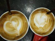 Due tazze di caffè Immagini Stock Libere da Diritti