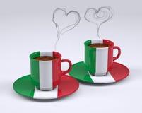 Risultati immagini per tazza di caffè tricolore