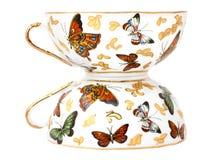 Due tazze di tè Immagine Stock