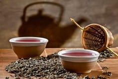 Due tazze di tè Fotografie Stock
