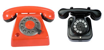 Due telefoni Immagini Stock