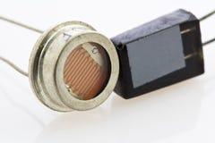 Due tipi differenti di sensori a semiconduttore Fotografia Stock Libera da Diritti