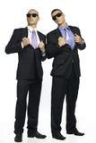 Due tiranti freddi del gangster fotografie stock libere da diritti