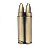 Due tondi di munizioni Fotografia Stock Libera da Diritti