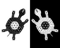 Due tortoises illustrazione di stock