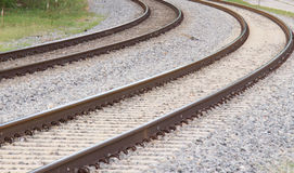 Due Tracks-2 fotografia stock