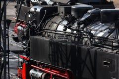 Due treni a vapore storici Fotografia Stock