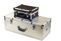 Due valigie Fotografia Stock