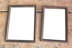 Due vecchi blocchi per grafici della foto Immagine Stock