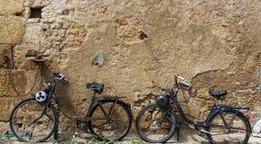 Due vecchi ciclomotori Fotografia Stock Libera da Diritti