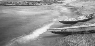 Due vecchie barche Immagini Stock