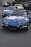 Due vecchio Renault alpino Fotografia Stock