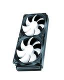 Due ventilatori fotografia stock