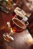 Due vetri della birra alla spina Fotografia Stock Libera da Diritti
