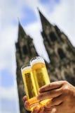 Due vetri della birra di Koelsch Immagini Stock Libere da Diritti