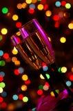 Due vetri di Champagne Fotografia Stock