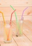 Due vetri pieni di limonata Immagine Stock Libera da Diritti