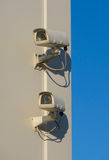 Due videocamere di sicurezza Fotografia Stock Libera da Diritti