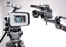 Due videocamere portatili Fotografia Stock Libera da Diritti