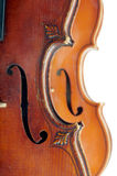 Due violini Fotografie Stock Libere da Diritti