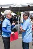 Due volontari Immagini Stock Libere da Diritti