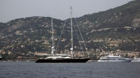 Due yacht Immagini Stock Libere da Diritti