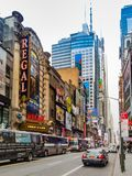 The Duece, 42nd Street, Manhattan royalty free stock photo
