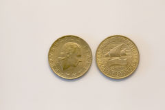 Duecento lire coin Stock Images