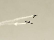 Duel aérien Images stock