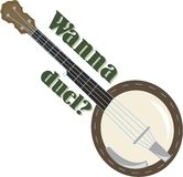 Duel Banjo Royalty Free Stock Images