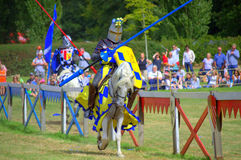Duel de chevaliers Photo libre de droits