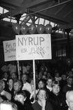 DUEL DE POUL NYRUP RASMUSSEN_ELECTION DBETAE Photographie stock libre de droits
