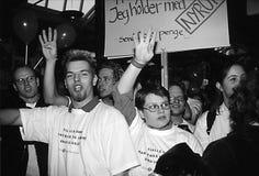 DUEL DE POUL NYRUP RASMUSSEN_ELECTION DBETAE Photo stock