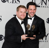 Dueling Tonys: James Corden and Steve Kazee Stock Photography