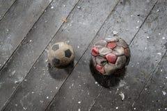 Duelo do futebol Imagens de Stock