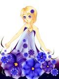 Duende da flor Imagens de Stock Royalty Free
