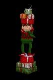 Duende de la Navidad Fotos de archivo