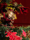 Duende de la Navidad imagen de archivo