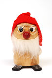 Duende de madera 1 de la Navidad Foto de archivo libre de regalías