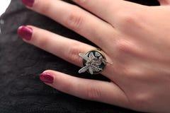 Duende del anillo Imagenes de archivo
