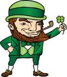 Duende del día de St Patrick Foto de archivo libre de regalías